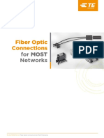 1-1773944-4 Fiber Optic Connections for MOST Networks