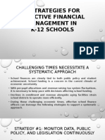 6 Strategies for Effective Financial Management Trends in K12 Schools