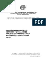 Guia Monitoreo y Evaluacion Mantenimiento_OIT