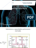 Clase n° 12  fisiopatologia respiratoria