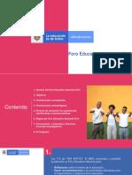 Foro Educativi Nacional 2019 Pesentacion