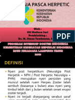 Neuralgia Post Herpetic Ppt