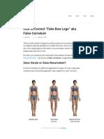 How to Correct False Curvature