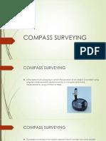 Compass Surveying 120