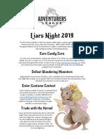 AL Liars Night 2019