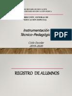 PRESENTACION DE LA INTRUMENTACION 2019-2020.pptx