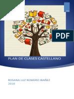 Formato Plan de Clases Castellano