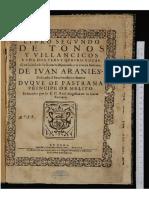 De Ivan Araines Per Coro e Chitarra Spagnola