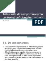 6. Tulburarile de comportament în contextul deficiențelor multiple.ppt