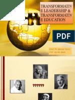 Transformative Leadership & Ed
