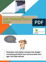 CARA PERAWATAN LUKA DI RUMAH.pptx