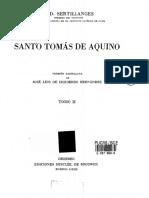 Santo Tomas de Aquino II, Fr. a-D Sertillanges OP