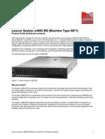 Lenovo System x3650 M5 (Machine Type 8871) (Withdrawn Product)