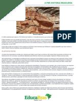 1 a Prehistoria Brasileira