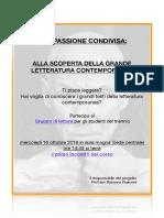 UnaPassione Condivisa_volantino