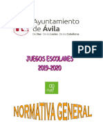 Normativa General 2019-2020