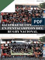 Alberto Vollmer - Alcatraz Se Convirtió en Pentacampeón Del Rugby Nacional