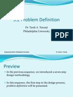 3.2 Problem Definition