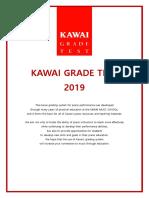 1, Modul Kawai Grade Test 2019