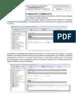 SEMANA 12 - Programación Del PLC. Direccionamiento Absoluto, Simbólico (Autoguardado)