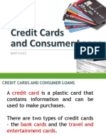 5. Credits Cards and Consumer