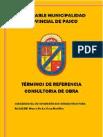 Términos de Referencia Elaboracion de Expediente Tecnico Jr Huaricapcha Cuadra 4