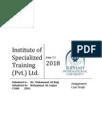 Ist Case Study___M Ali Asghar __Riphah G7