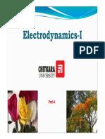 Electrodynamics Part 1