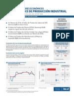 indice producción industrial 2019