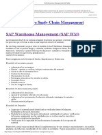SAP Warehouse Management (SAP WM)