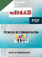 Tecnicas de Comunicacion i Al IV