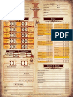 Dark Heresy PC Sheet