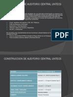 CONSTRUCCION DE AUDITORIO