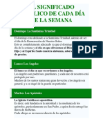EL SIGNIFICADO CATÓLICO DE CADA DÍA DE LA SEMANA Y MES.docx
