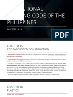 The National Building Code of the Philippines Chapters 15-18