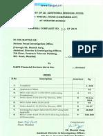ILFS Charge Sheet