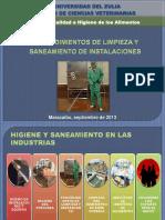 Procedimientos de Limpieza y Saneamiento de Instalaciones
