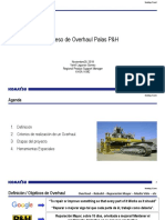 Proceso de Overhaul de Palas P&H