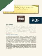 Boletín Jurisprudencial - Sala de Casación Civil - Bogotá, D. C., 3 de octubre de 2019