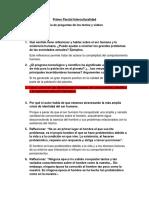Primer Parcial Interculturalidad-UPSA