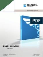 Rigel Uni Sim Lite Manual 1.1