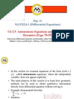 11.2.5 - Autonomous Equations and Population Dynamics (2).pptx