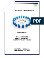 Modulo Fundamento de Administracion- 2017