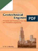 Geo technical Engineering by V. murthy