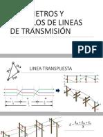 Parámetros y Modelos de Lineas de Transmisión