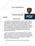 Canton Police Department meth lab arrest