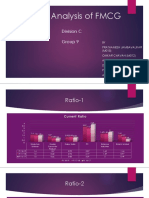 Ratio Analysis of FMCG