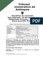 000 2014 001475 00 TRES Expropiacion Seminario Conciliar vs Dto de Antioquia