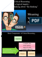 Revised Critical Reasoning