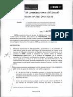 RESOLUCION N°2111-2019-TCE-S1
